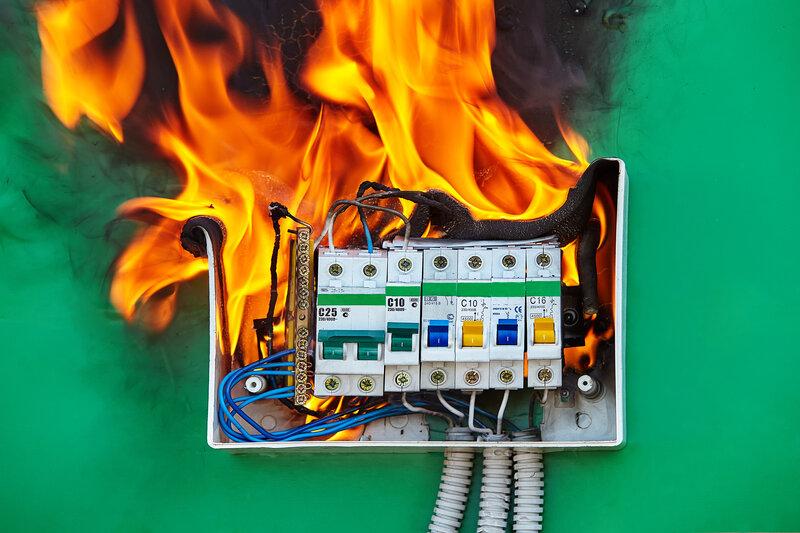 Home Inspection Hammond Fire Hazard
